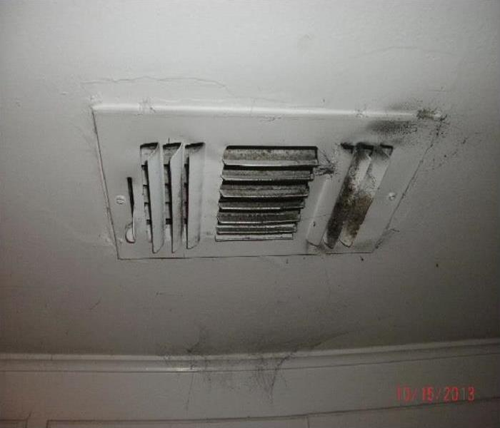 Fire Damage & Duct Clean Before