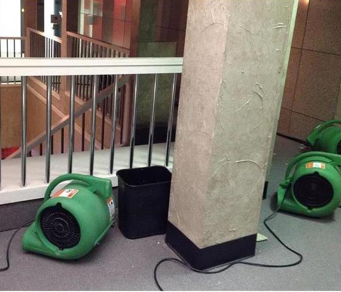 SERVPRO Fans Drying